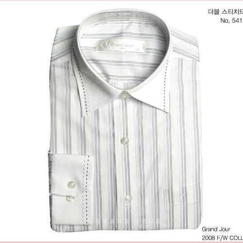 그랑주르 더블 스티치드 셔츠 제품사진