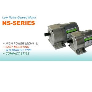 저소음 기어드 모터  제품사진